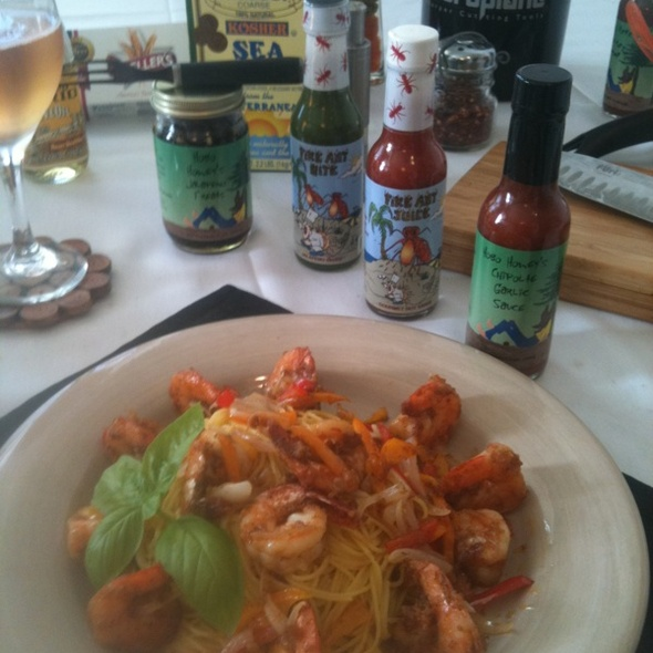 Tropical Island Saffron Shrimp @ Tropical Island Gourmet Co.
