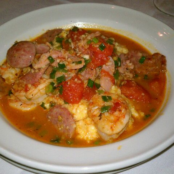 Shrimp and Grits @ Slightly North of Broad Restaurant