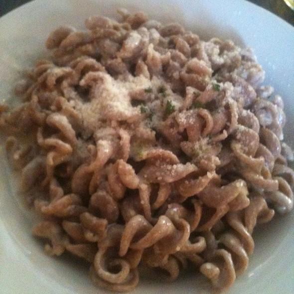 Whole Wheat Fussili W/ 4 Formaggi @ Figo Pasta