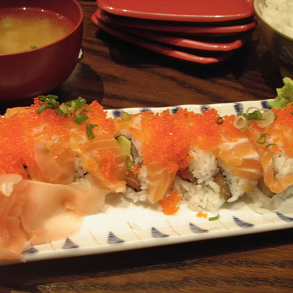 Double Salmon Roll @ Old Town Sushi