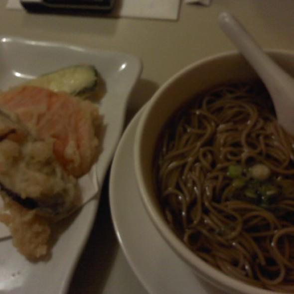 Shrimp Tempura Soba Noodle Soup @ Taraval Okazu Ya Restaurant