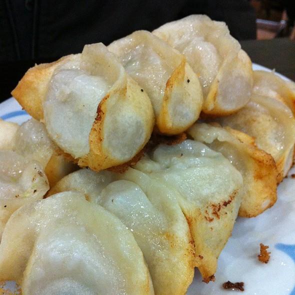 Fried Pork Dumplings @ Auntie's Dumplings