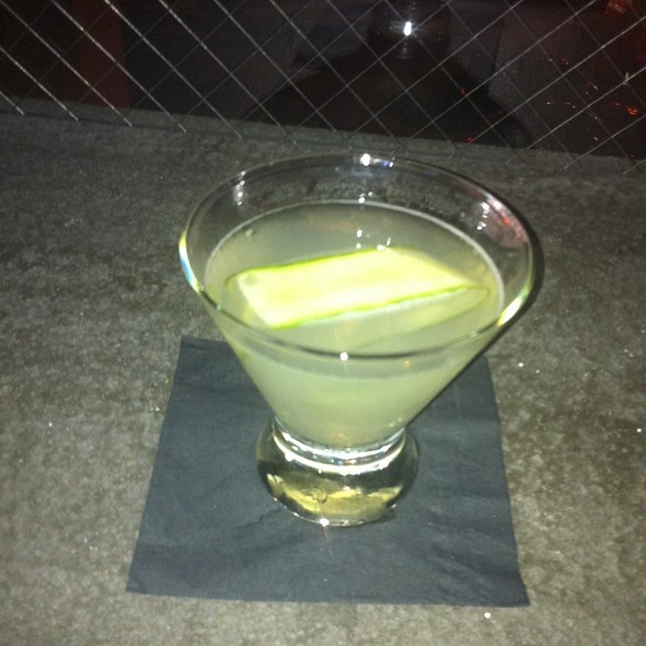 Martini @ Jack Rose Dining Saloon