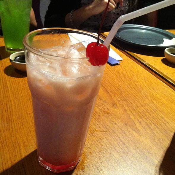 Strawberry Yakult @ John and Yoko Cosmopolitan Japanese Resto