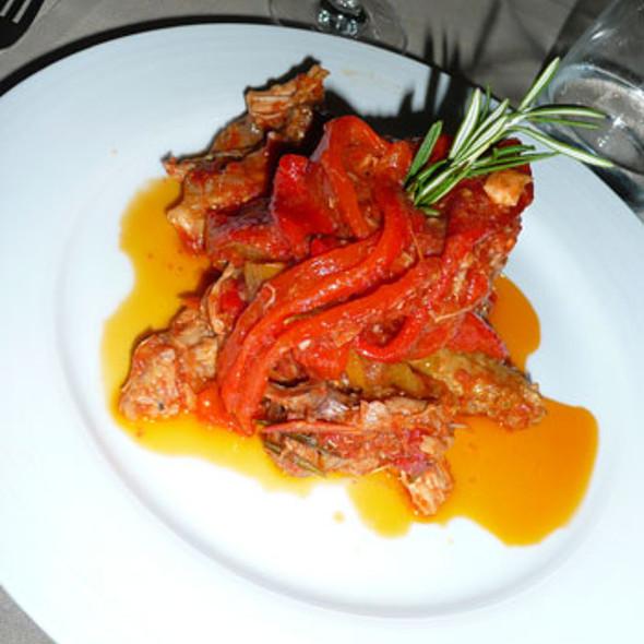 Pollo e peperoni