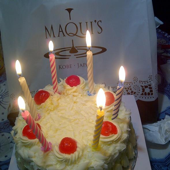 Maquis Plaza Indonesia Cheese cake Foodspotting