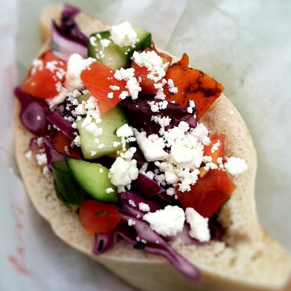 Falafel Sandwich @ Liba Falafel Truck