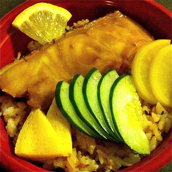 Snow Cod Rice Bowl @ Jasons Market Place