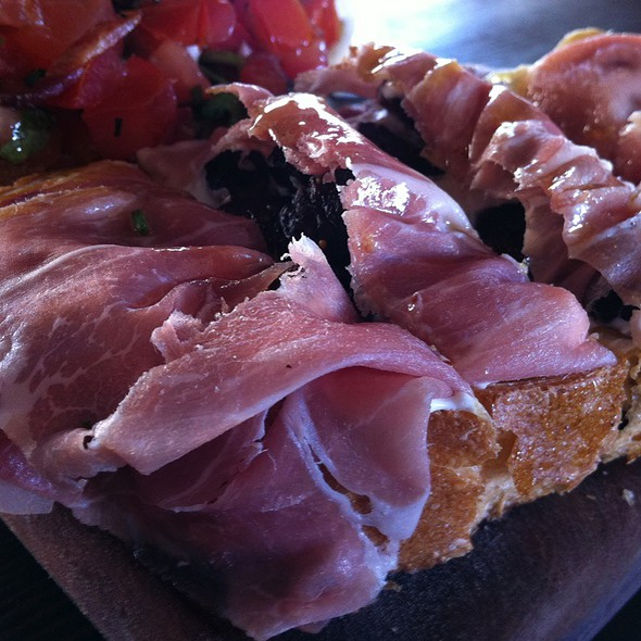 Proscuitto and Fig Bruschetta @ Postino Central