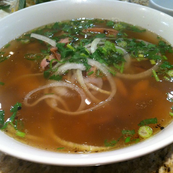 Grilled Chicken Pho @ Pho Cali