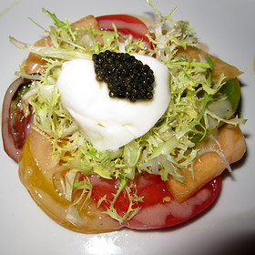 Heirloom Tomato Salad - Andre's at the Monte Carlo Resort & Casino, Las Vegas, NV
