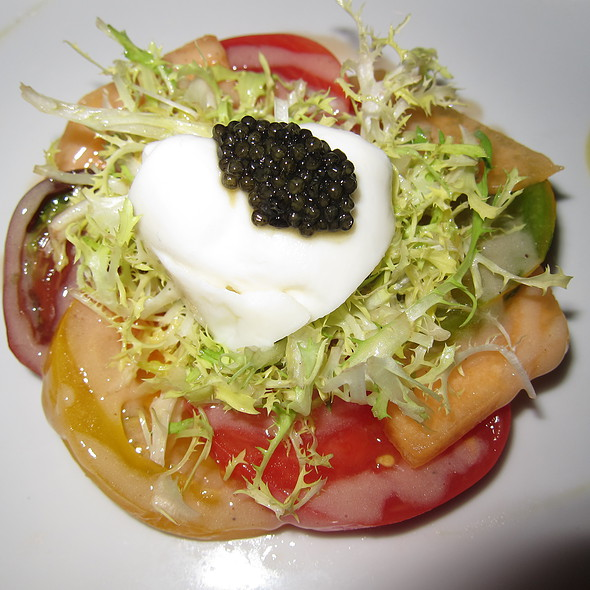 Heirloom Tomato Salad - Andre's at the Monte Carlo Resort & Casino, Las Vegas