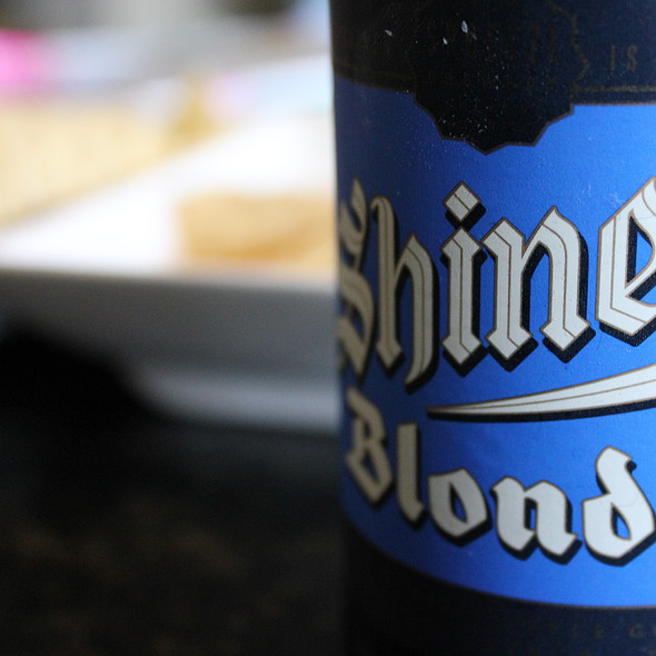 Shiner Blonde @ Home