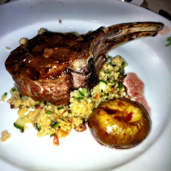 Chili Glazed Lamb Chop - The Four Seasons Restaurant – The Grill Room, New York, NY