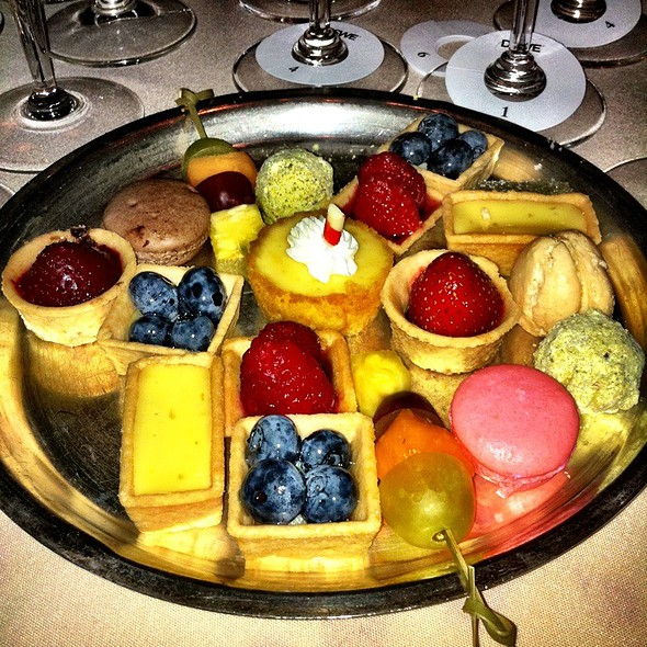 Petit Fours - The Four Seasons Restaurant – The Grill Room, New York, NY