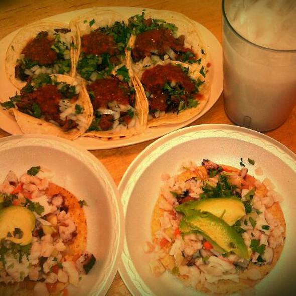 Carne Asada Tacos @ Tacos Xalisco