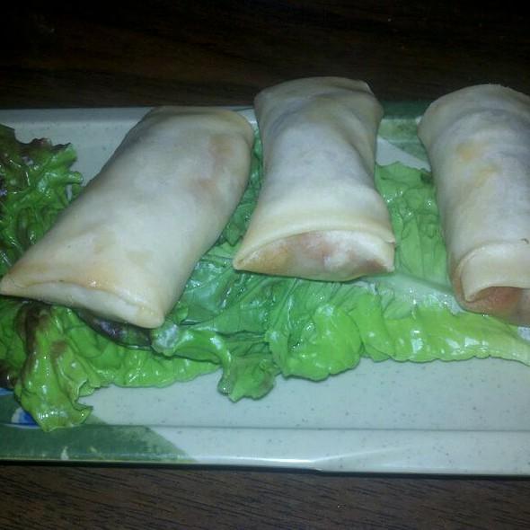 Kimchi Eggrolls @ Genji Japanese Restaurant & Karaoke Bar (Wilcrest)