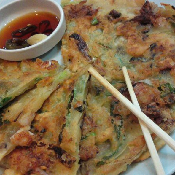 Seafood Korean Pancake