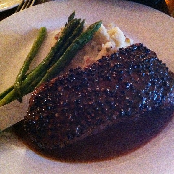 Steak Au Poivre @ Indian Wells Tavern