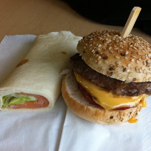 Bacon Cheese Burger @ Nyenrode Business Universiteit