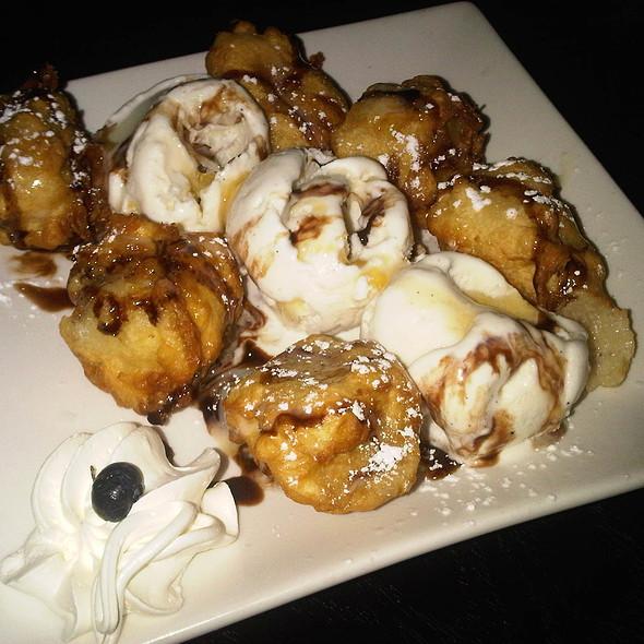 Banana Tempura @ Japaneiro's Sushi Bistro & Latin Grill
