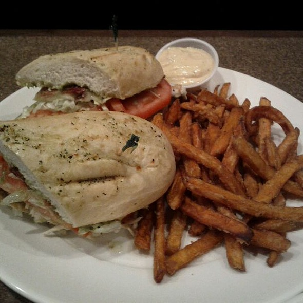 Smoked Turkey And Guacamole Sandwich @ Buster's Bar & Grill