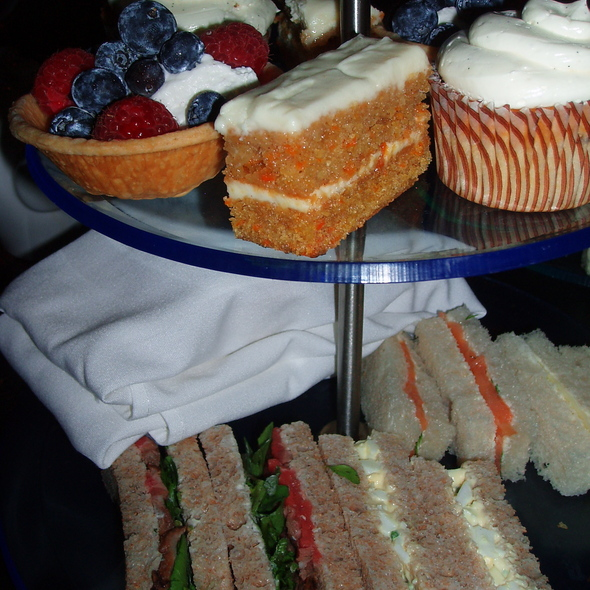 Afternoon Tea Set - The Crosby Bar, New York, NY