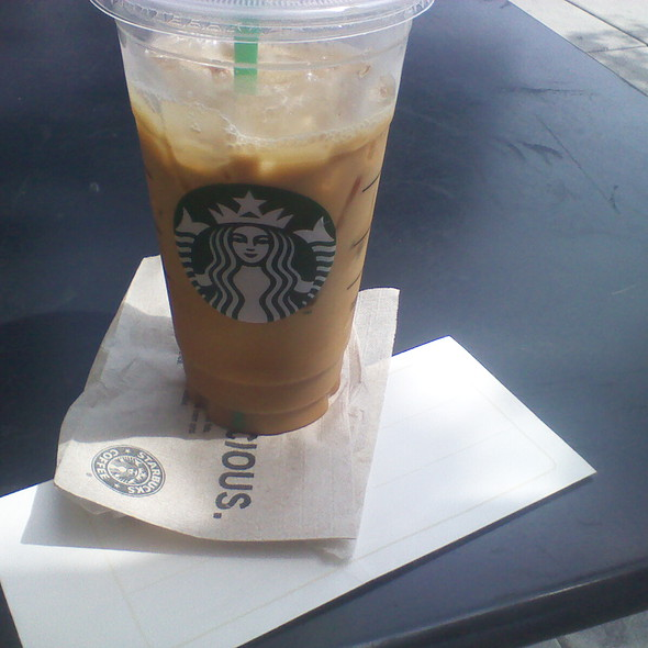 Venti Iced Coffee @ Starbucks