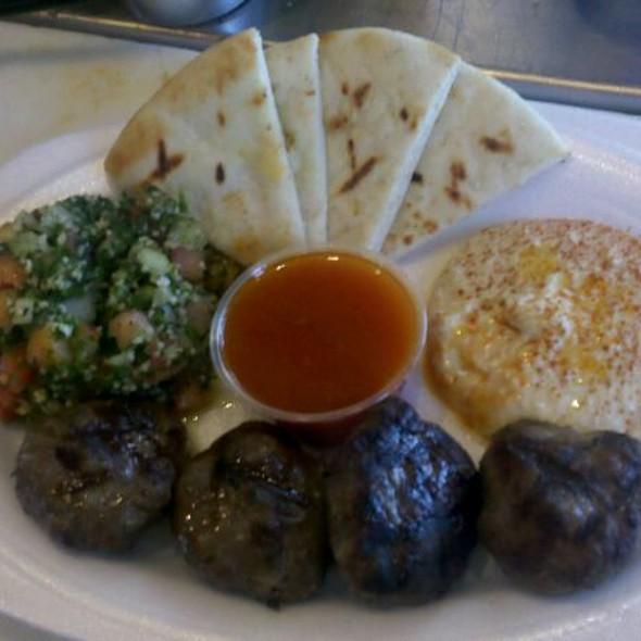 Kofte Kebab Platter