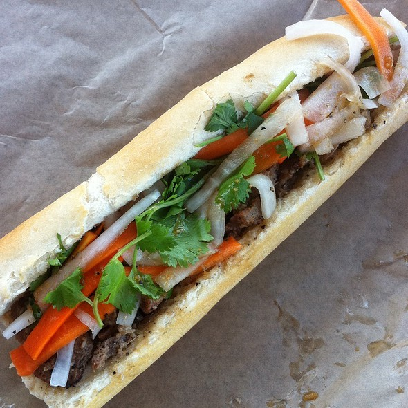 Grilled Pork Vietnamese Sandwich @ East Borough