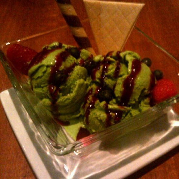 Green Tea Ice Cream - Kabuki Japanese Restaurant - Tempe, Tempe, AZ
