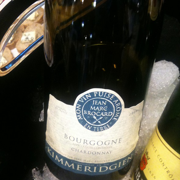 Kimmeridgien White Bourgogne @ Whole Foods Market - Lexington Green