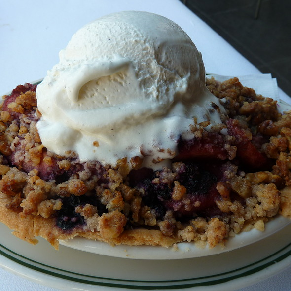 Apple & Bluberry Cobbler - The Grill on Hollywood, Hollywood, CA
