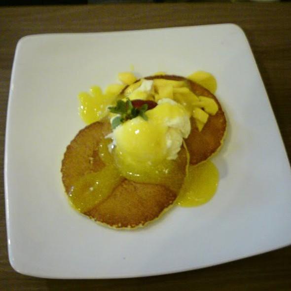 Pancake with Vanila ice cream @ PANCAKE HUT Cafe