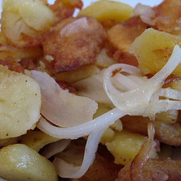 Fried Potatoes @ Paparazzi Restaurant