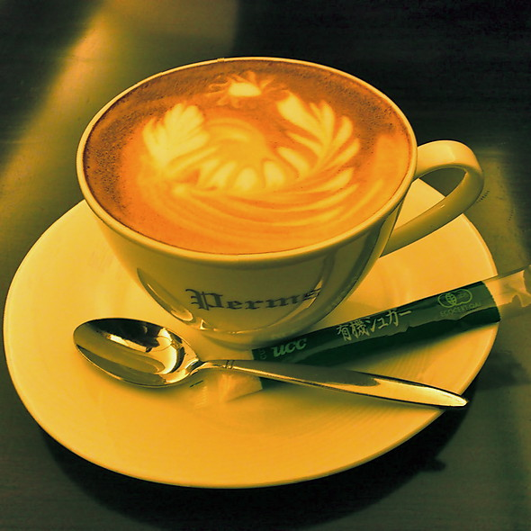 Caffe Latte @ Perms