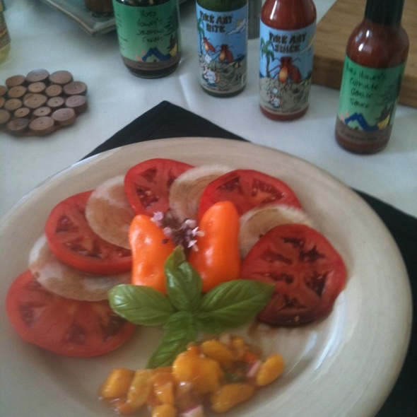Jersey Beefsteak Tomato Salad @ Tropical Island Gourmet Co.