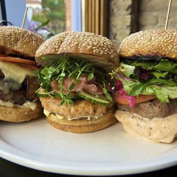Turkey Burger @ Birchwood Kitchen