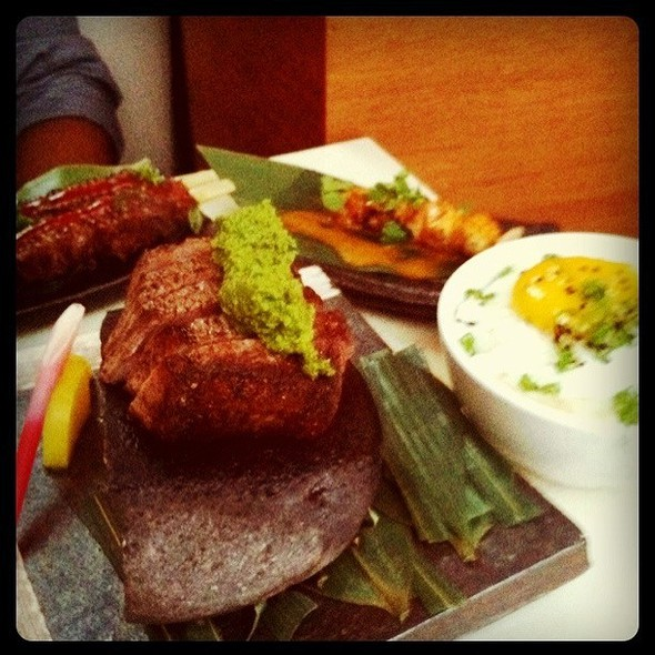 Hot Rock with Wagyu @ Departure Restaurant & Lounge