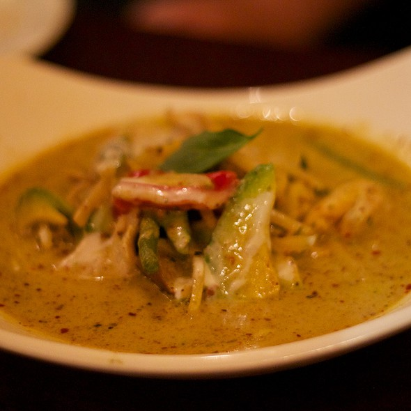 Avocado Green Curry @ Auburn Thai Garden Restaurant