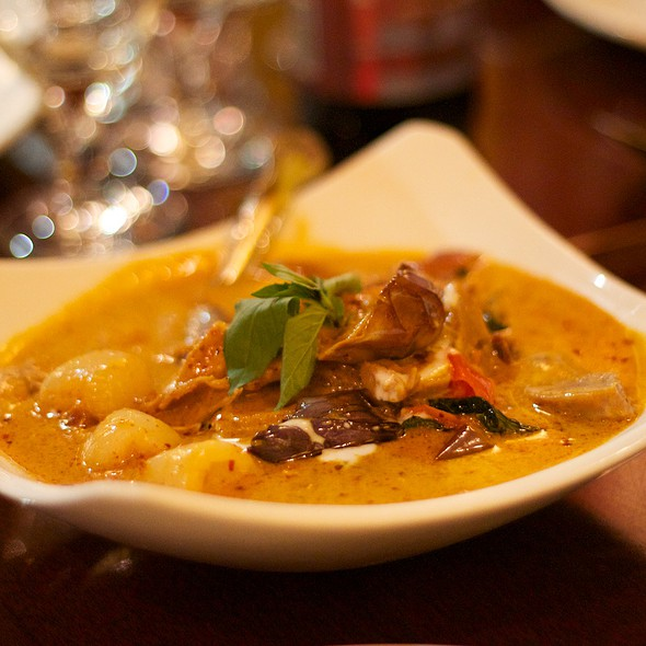 Rambutan Curry @ Auburn Thai Garden Restaurant