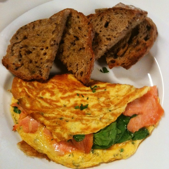 Salmon Omelette @ Wheat Cafe