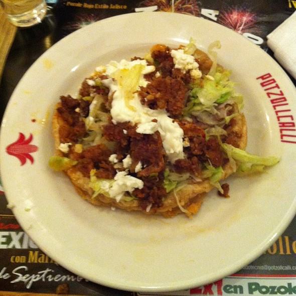 Chorizo Sope