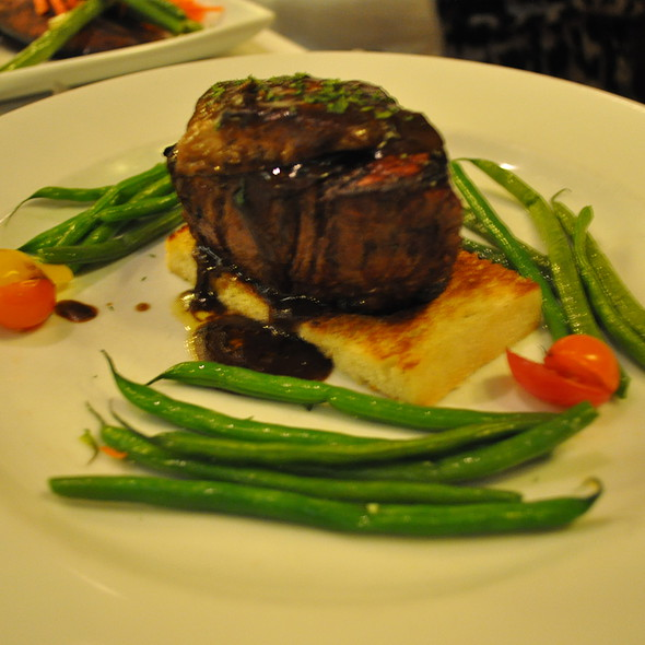 Filet Mignon Rossini @ Harris' Restaurant