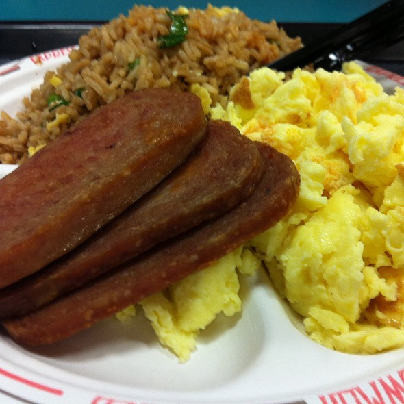 Spam and Eggs @ Honolulu International Airport, Honolulu, HI 96819
