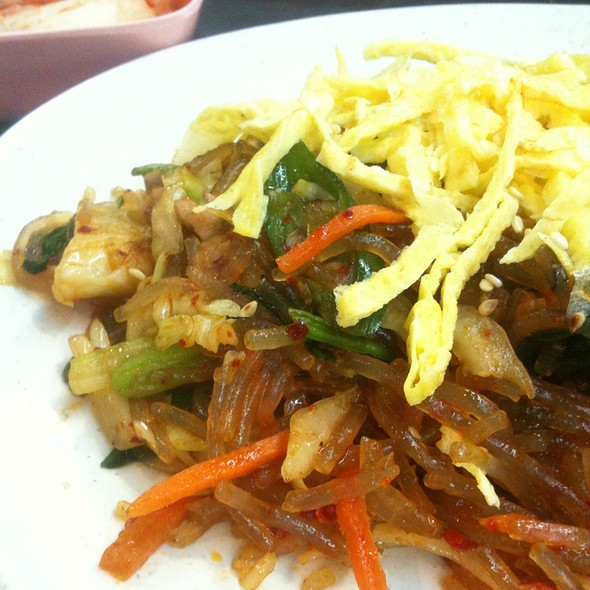 Fried Korean Glass Noodles @ Le Meridian Food Court