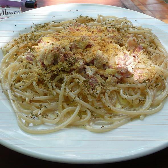 Pasta Carbonara @ Aissatou Resort Boracay