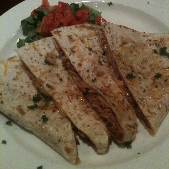 BBQ Chicken Quesadilla @ The Tavern