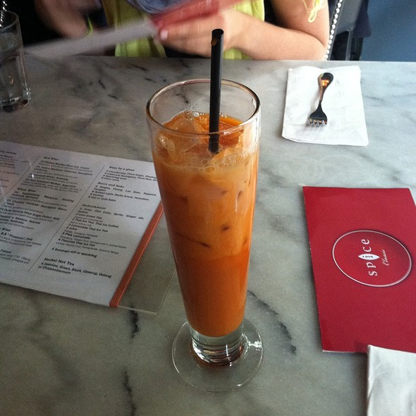 Thai Ice Tea @ Spice