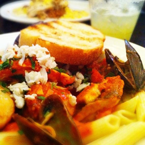 Seafood Pasta - Carlyle Grill, Ann Arbor, MI